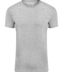 garage basis t-shirt ronde hals bodyfit grijs