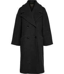 lange jas oversized wolmix