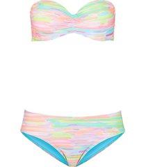 bikini a balconcino con ferretto (set 2 pezzi) (verde) - bpc bonprix collection