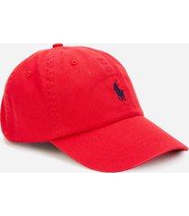 polo ralph lauren men's cotton chino sport cap - rl2000 red/blue