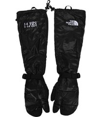 mm6 x north face x tnf tabi expedition mitt gloves