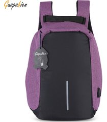 mochila/ multifunción bolsa al aire libre-púrpura