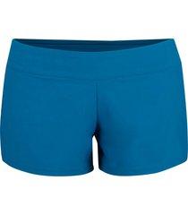 pantaloncini da mare con slip integrato (petrolio) - bpc selection