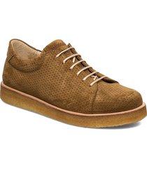 shoes - flat - with lace snörade skor låga brun angulus