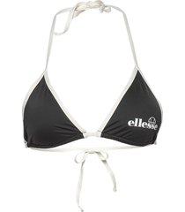 el izzy bikini top bikinitop svart ellesse