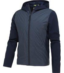 blue industry vest/hoody zomerjas