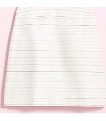 loft tall shimmer stripe shift skirt