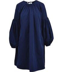 calvin klein lace detail bishop dress