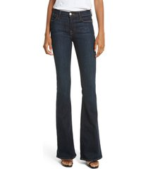 frame 'le high flare' jeans, size 25 in sutherland at nordstrom