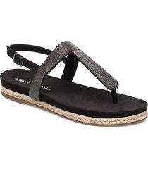 sarah 1 shoes summer shoes flat sandals svart marc o'polo footwear