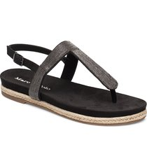 sarah 1 shoes summer shoes flat sandals svart marc o'polo footwear
