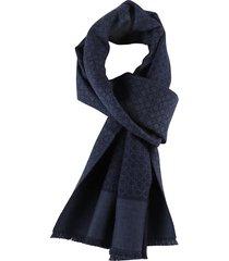 salvatore ferragamo logo motif scarf