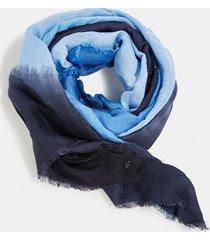 pañuelo en lino y lenzing ecovero azul marino esprit
