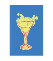 placa decorativa cozinha bebidas drink 03 30x40cm