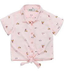 camisa manga corta rosado  offcorss