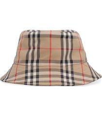 burberry cotton bucket hat