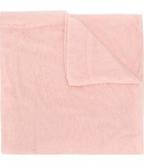 altea long cashmere scarf - pink