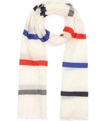'daiquiri' contrast stripe scarf