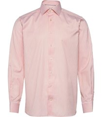 contemporary fit business casual poplin shirt overhemd business oranje eton