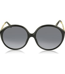 marc jacobs designer sunglasses, mj 613/s acetate round women's sunglasses