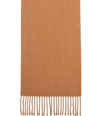 steve madden mid weight solid muffler scarf