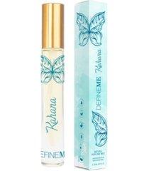 defineme women's kahana on the go natural perfume mist, 0.30 fl oz