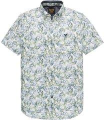 pme legend overhemd psis202245 6253 green print blouse groen