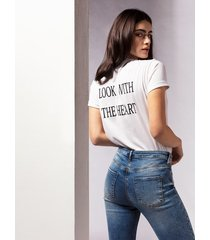 motivi jeans cropped modello lily rose donna blu