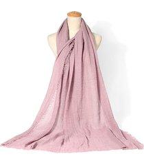 sciarpa hijab in lino