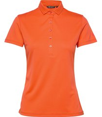 lds clark polo t-shirts & tops polos orange abacus