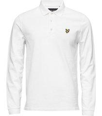 ls polo shirt polos long-sleeved vit lyle & scott