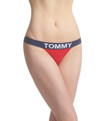 tommy hilfiger women's modern seamless thong underwear r14t118