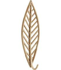 wieszak bambusowy 42cm, liść