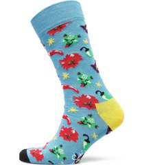 chili cat sock underwear socks regular socks blå happy socks