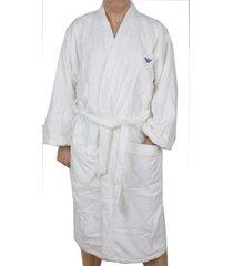 armani badjas met klein logo wit maat m