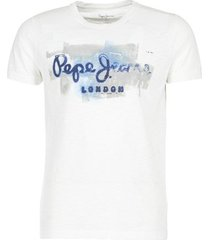 t-shirt korte mouw pepe jeans golders