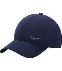 gorra azul reebok badge