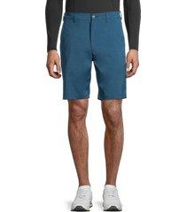 pga tour men's flat-front shorts - moroccan - size 34