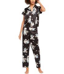inc printed short sleeve pajama set, created for macy's