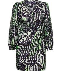 magnolia short dress aop 11244 dresses wrap dresses multi/mönstrad samsøe samsøe