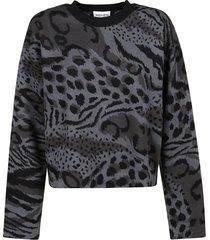 kenzo cheetah leopard sweater