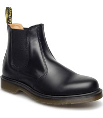2976 black smooth stövletter chelsea boot svart dr. martens