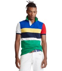 polo ralph lauren men's big & tall classic-fit mesh polo shirt