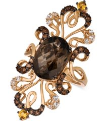 le vian crazy collection multi-gemstone ring (6-1/4 ct. t.w.) in 14k rose gold