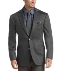 joseph abboud limited edition charcoal gray modern fit sport coat
