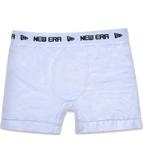 underwear new era cueca boxer new era brasil branco - branco - masculino - dafiti