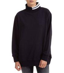 dolcevita collo alto maglione maglia donna 4 bar