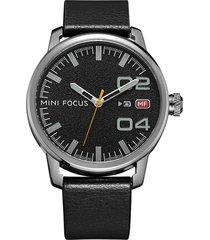 reloj análogo f0022g-3 hombre negro