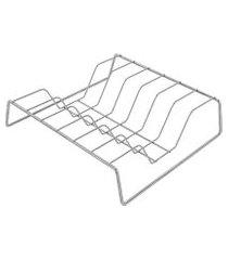 organizador de tampas de panelas lines 27 cm - home style