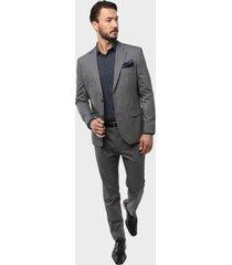 traje formal gris oscuro arrow